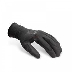 Szerelőkesztyű nitril fekete - L 12 pár