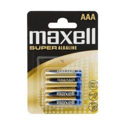 Mikroceruza elem AAA • LR03 XL Super Alkaline • 1,5V 4 db / bliszter