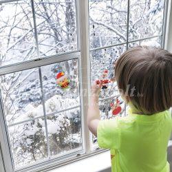 Karácsonyi habmatrica mikulás  60 db / csomag