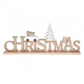 Karácsonyi dísztárgy és díszfigura