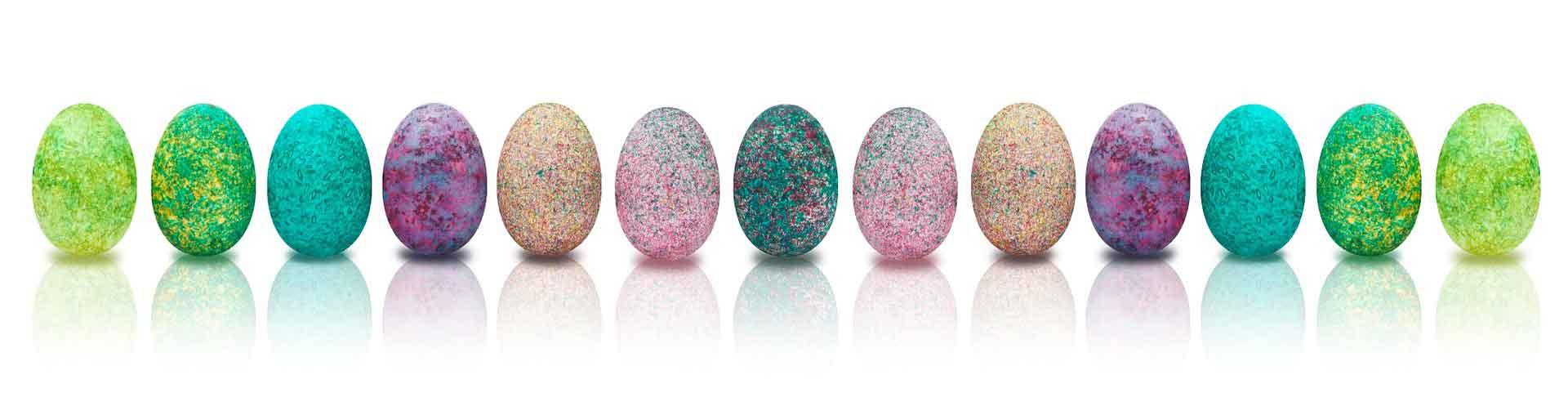 Húsvéti dekorációs tojások